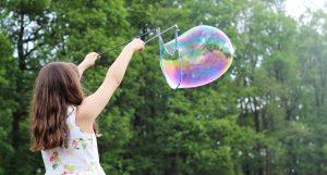 Child, bubble, permission, MOPS blog