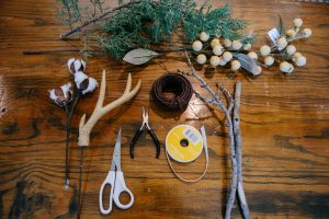 Rustic Wreath DIY Materials